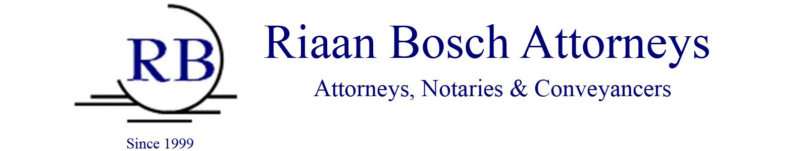 Riaan Bosch Attorneys logo